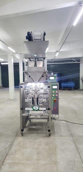 Máquina de empacotar grãos
