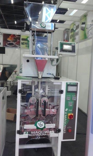 Empacotadora automática de salgadinhos