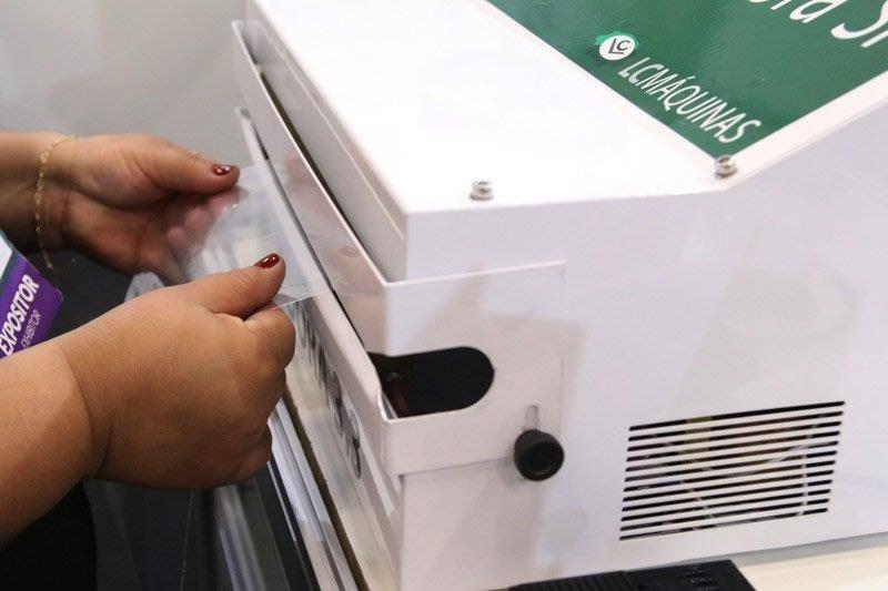 Seladora para embalagem plastica